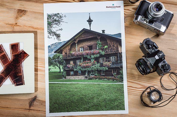 """Plakat Kufsteinerland """"Bauernhof"""""""