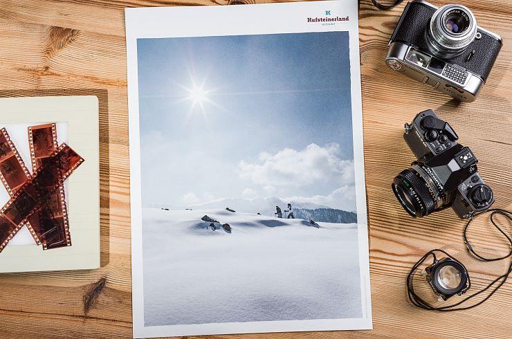 """Plakat Kufsteinerland """"Winter"""""""