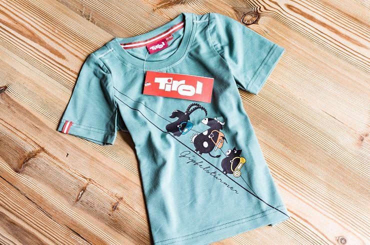 """Kinder T-Shirt Tirol """"Gipfelstürmer """""""