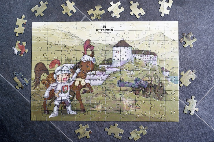 """Kinderpuzzle """"Festung Kufstein"""""""