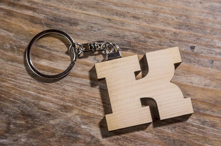 "Schlüsselanhänger ""Holz"" groß"